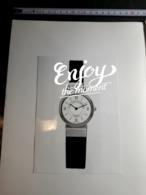 VAN CLEEF & ARPELS  HORLOGERIE MONTRES DOCUMENTATION N° 22 INVITATION TOURNOI POLO 1990 HEURGON CERCLE PRESSE - Joyas & Relojería