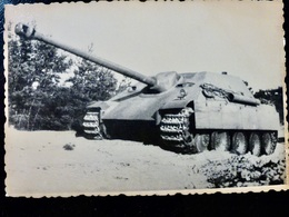 GERMAN Photo WW2 WWII ARCHIVE : Chasseur De Chars ** JAGDPANTHER ** - Guerre, Militaire