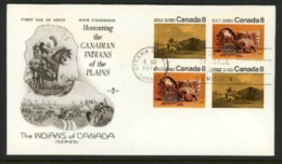 Canada FDC 1972 - 1952-.... Règne D'Elizabeth II
