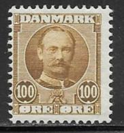 Denmark, Scott # 78 Mint Hinged Frederik, 1907,CV$90.00 - 1905-12 (Frederik VIII)