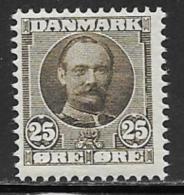 Denmark, Scott # 75 Mint Hinged Frederik, 1907 - 1905-12 (Frederik VIII)