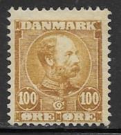Denmark, Scott # 69 Mint Hinged Christian LX, 1905 - 1905-12 (Frederik VIII)