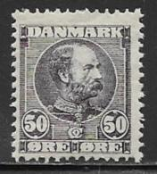 Denmark, Scott # 68 Mint Hinged Christian LX, 1905, CV$100.00 - 1905-12 (Frederik VIII)