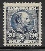 Denmark, Scott # 66 Mint Hinged Christian LX, 1904 - 1905-12 (Frederik VIII)