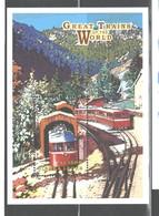 "SIERRA LEONE   1999   ""TRAINS""  M.S.  #2220   MNH - Sierra Leone (1961-...)"
