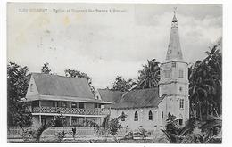 CPA îles Gilbert, église Et Couvent Des Soeurs à Nonouti, Circulée - Kiribati