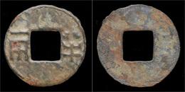 China Western Han Dynasty Emperor Wen Di Bronze Ban-liang Cash - Orientales