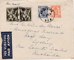 Belgium 1946 Airmail Cover Sent To Australia - Belgique