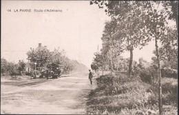 DE PANNE : Route D'Adinkerke - Paardentram - De Panne