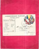 GUERRE  1914   -  Correspondance Militaire 24/02/1917  Du Soldat MATHIEU Du DM-RGA - 010520 - - Guerre 1914-18