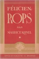 Félicien Rops Par Maurice Kunel - Collection Nationale, Office De Publicité, Bruxelles 1943, 65 Pages - Belgien