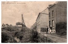 AULNOIS QUEVY - Rue Des Viverets - Animée - Cpa Belgique - Quévy