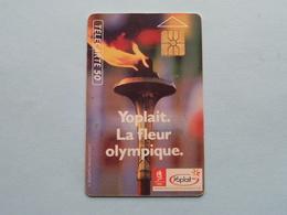 YOPLAIT La FLEUR OLYMPIQUE ( Tirage 600.000 01/92 > Zie / Voir Photo ) ! - Olympische Spelen