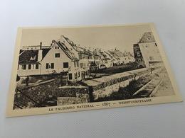 CP - 1600 - Le Strasbourg Disparu - Le Faubourg National 1867 - Strasbourg