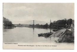 PESSAC SUR DORDOGNE - Le Pont Et Les Rives De La Dordogne - Pessac