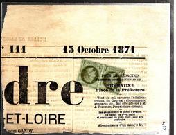 31402 -  Tarif  Journal  2 C - 1849-1876: Periodo Clásico