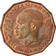 Monnaie, Tanzania, 5 Senti, 1975, TTB, Bronze, KM:1 - Tanzania