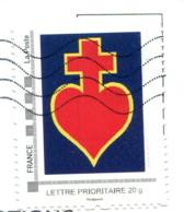 Montimbramoi Coeur Surmonté D'une Croix (Guerre De Vendée) - Lettre Prioritaire 20g Sur Fragment - Personnalisés (MonTimbraMoi)
