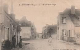 Bazougers. Route De Soulgé - Autres Communes