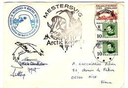 31415 - EXPEDITION COTE  NORD EST GOENLAND 1988 - Briefmarken