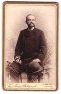 Photo H. Leon, Alexandrie, Portrait De Eleganter Herr Sitzend - Personnes Anonymes