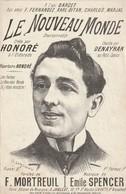 (MUSI2) Illustrateur GANGLOFF ,lle Nouveau Monde , HONORE , Paroles F MORTREUIL , Musique EMILE SPENCER - Scores & Partitions