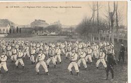 LE MANS - 117è Régiment D'Infanterie - Caserne Chanzy - Escrime à La Baïonnette - Le Mans
