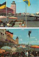 2 Postcards München - Flughafen Riem / Flughafenterrasse - Muenchen