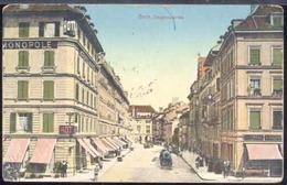 SVD631 BERN - ZEUGHAUSGASSE ( LINEARE MILANO POSTA ESTERA ROSSO) - BE Berne