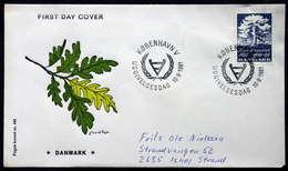 Denmark 1981 MiNr.739 International Year Of Disabled Persons FDC ( Lot Ks )FOGHS COVER   TREE - FDC