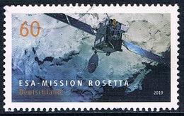 """Allemagne Fédérale - Agence Spatiale Européenne : Mission """"Rosetta"""" 3258 (année 2019) Oblit. - [7] Federal Republic"""