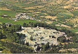 Crète - Cnossos - Vue Aérienne Du Palais - Grecia