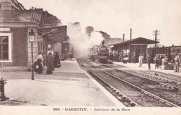 89-BARENTIN INTERIEUR DE LA GARE - Barentin