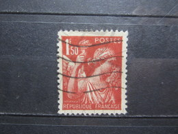 VEND BEAU TIMBRE FRANCE N° 652 , FOND LIGNE !!! - Variétés: 1941-44 Oblitérés