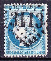 France-Yv 60A, GC 3113 Renwez (7) - 1849-1876: Période Classique