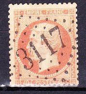 France-Yv 23, GC 3117 Rethel (7) - 1849-1876: Période Classique