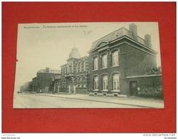 ERQUELINNES  - La Maison Communale Et Les Ecoles  -  1913 - Erquelinnes