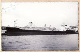 Mar169 Peu Commun Le LENS MINERALIER 20000t à CASABLANCA 8 Mai 1959 Marine Marchande Française Carte Bromure FLANDRI - Casablanca