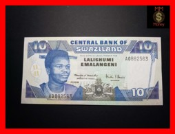 SWAZILAND 10 Emalangeni 1.4.1998 P. 24 C   UNC - Swasiland