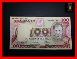 TANZANIA 100 Shilingi 1978 P. 8 D   UNC - Tanzania