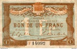 15456   BILLET CHAMBRE DE COMMERCE DU TREPORT - Chambre De Commerce