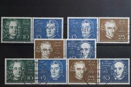 BRD 315-316 Und 318-319 Gestempelt Zusammendrucke Aus Block 2 #UF002 - [7] République Fédérale