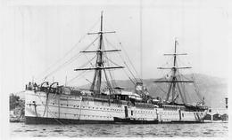 """PHOTO BATEAU """" COMORIN """" C.N.N.COMPAGNIE NATIONALE DE NAVIGATION 1882 F.C.M LA SEYNE INCENDIE 1895 - Riproduzioni"""