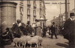 Cp Napoli Neapel Campania, Vendita Di Agnelli - Autres