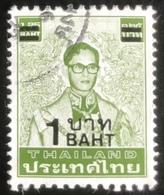 Thailand -(o)used - Ref 9 - 1988 - Koning Bhumibol - 1 Baht - Tailandia