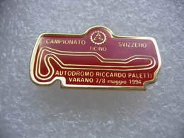 Pin's Du Circuit Automobile En Italie. Autodromo Riccardo Paletti Varano. Campionato Ticini Svizzero. 7 Et 8  Maggio1994 - F1