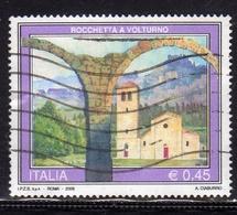 ITALIA REPUBBLICA ITALY REPUBLIC 2005 PROPAGANDA TURISTICA TOURISM ROCCHETTA A VOLTURNO USATO USED OBLITERE' - 2001-10: Usati