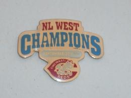 Pin's BASEBALL, REDS DE CINCINNATI WEST CHAMPION 1990 - Honkbal