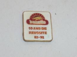 Pin's BANETTE, 10 ANS DE REUSSITE - Alimentation