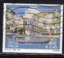 ITALIA REPUBBLICA ITALY REPUBLIC 2005 PROPAGANDA TURISTICA AMALFI TOURISM USATO USED OBLITERE' - 2001-10: Usati
